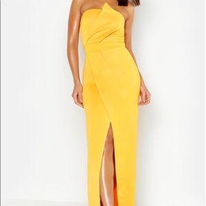Mustard Yellow Maxi Dress Sz. 4